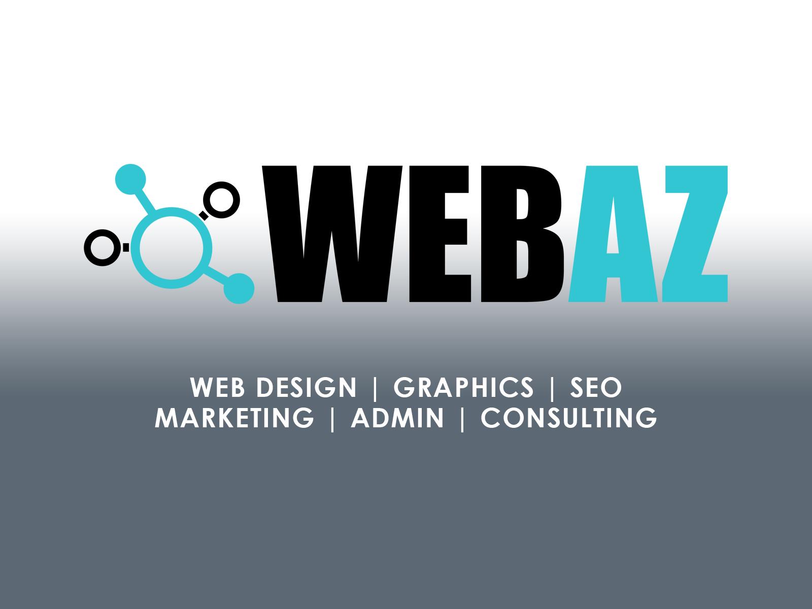 WebAZ web design web development seo marketing consulting admin services